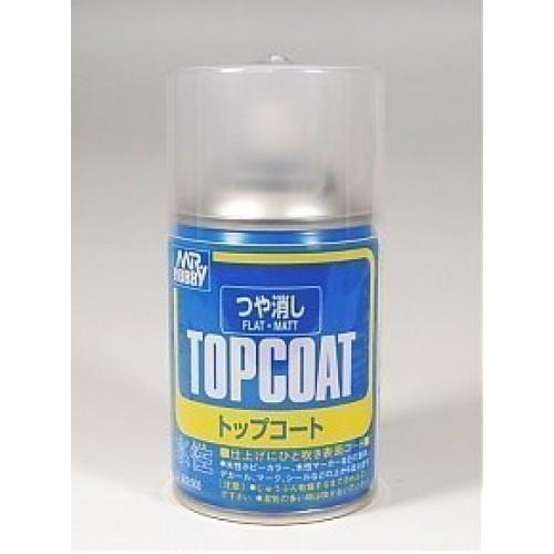 Mr HOBBY TOP COAT FLAT (ACRYLIC)